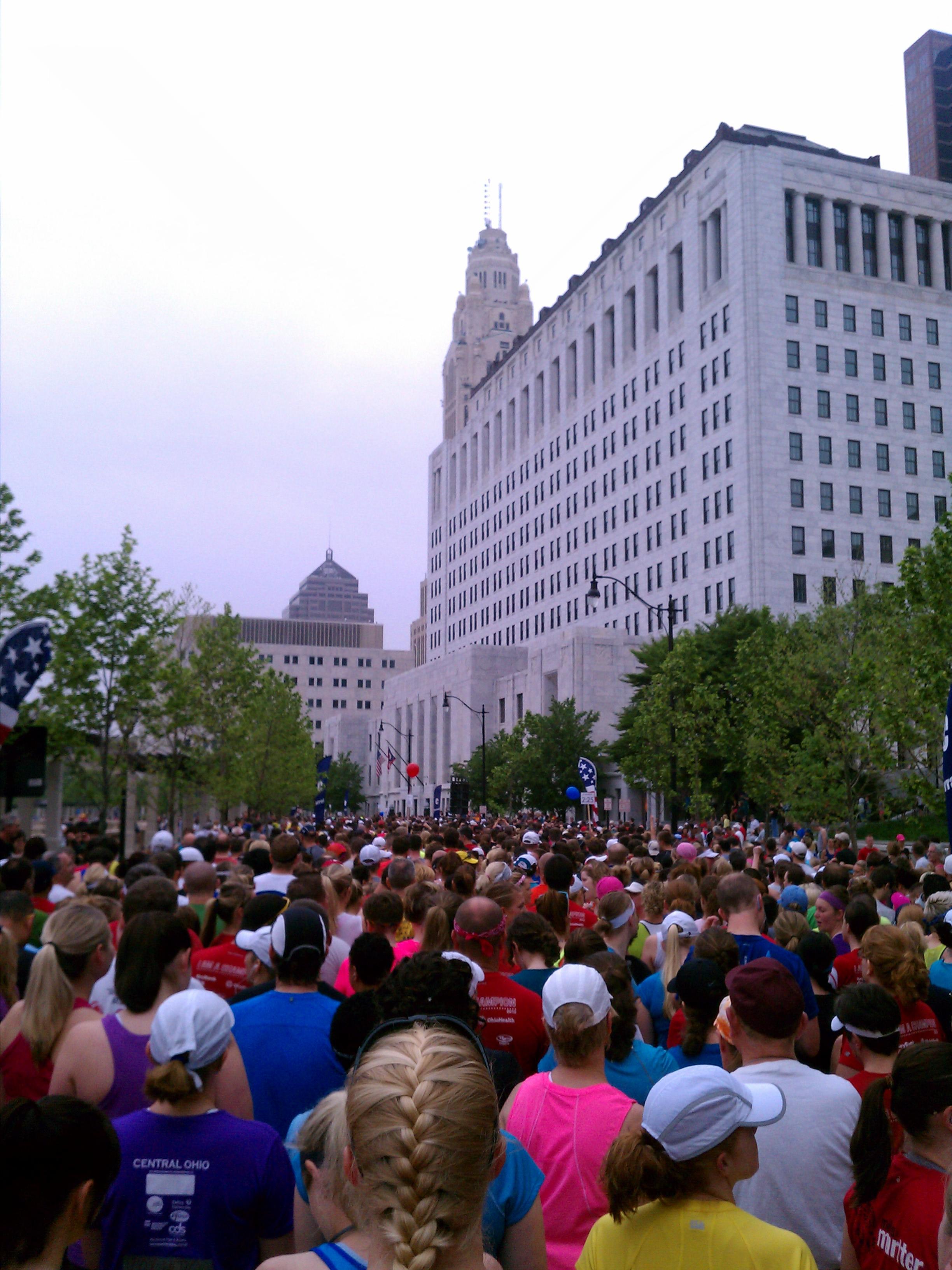 Columbus capital city half marathon 2012 why outrun the for Columbus capitale